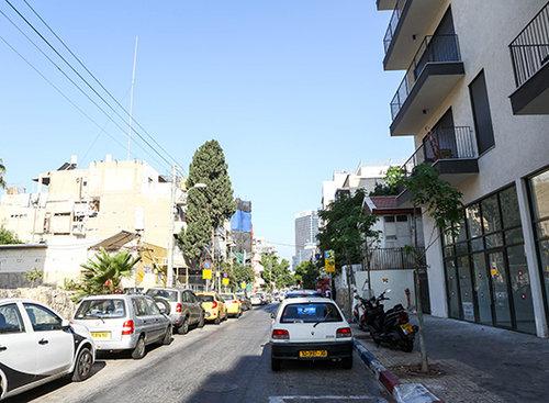 רחוב י.ל. פרץ (צילום: שלומי יוסף)