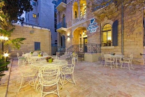 מלון בוטיק ארקדיה במושבה בירושלים. צילום: אתר בוקינג