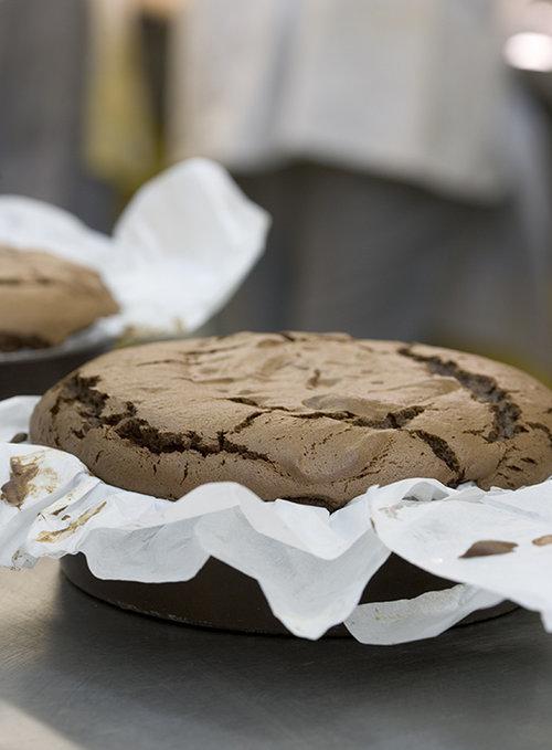 עוגת סאקה. אורנה ואלה (צילום: על אילן)