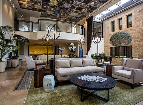 מלון הרמוני בירושלים. צילום: נתן דביר