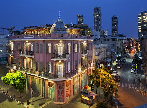 הפינה הכי יפה בעיר, מלון נורדוי. צילום: אסף פינצ'וק