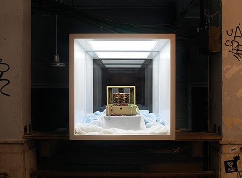 קופסת האור של נוימסטר-ברעם בתדר (צילום: טל נסים)