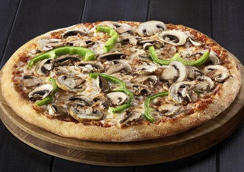פיצה טבעונית דומינוס. צילום דן פרץ