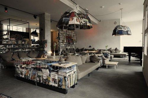 מלון Michelberger Hotel בברלין. צילום: אתר בוקינג