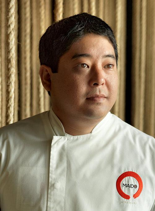 """שף מיטסוהרו טסומורה. צילום: יח""""צ"""