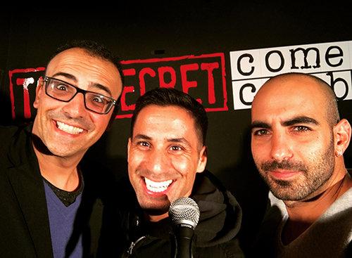 יוסי טרבלוס (משמאל), שחר חסון ויוחאי ספונדר (צילום: יוסי טרבלוס)