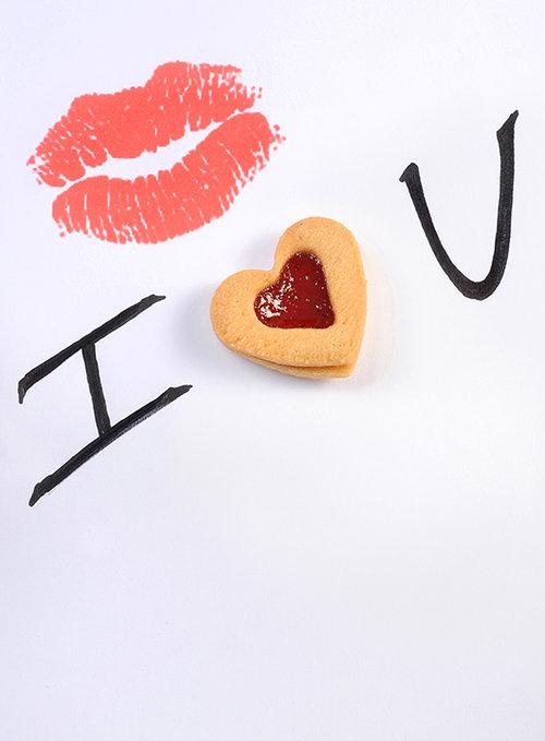 עוגיית לב ריבה, בוטיק סנטרל. צילום: חגית גורן