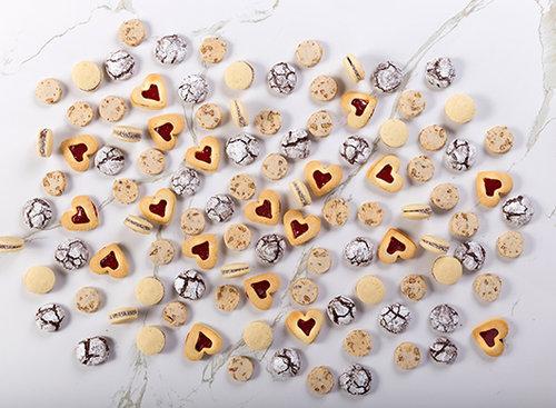 עוגיות ריבה לב, בוטיק סנטרל. צילום: שרית גופן