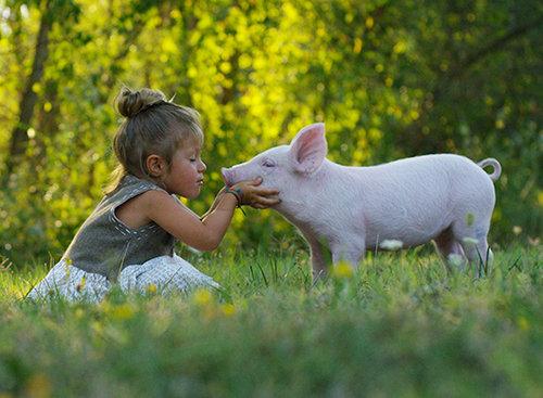 ילדה טבעונית (צילום: Shutterstock)