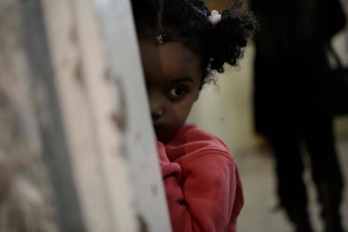 גן ילדי פליטים בדרום תל אביב. צילום: תומר נויברג