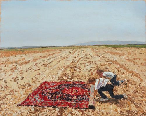 רזאן ועדן 2, 2012. עבודה של פאטמה שנאן