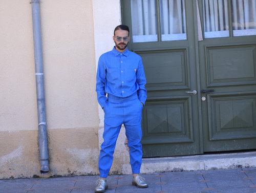 אביחי דעי בשבוע האופנה 2018. צילום: אסף ליברפרוינד