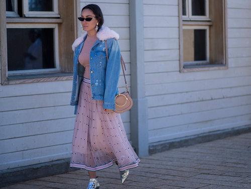 אנה ארונוב בשבוע האופנה 2018. צילום: אסף ליברפרוינד