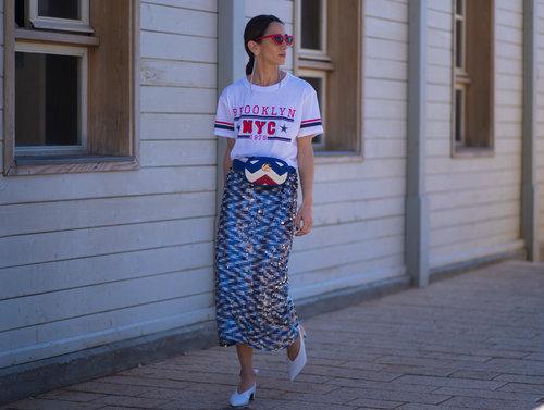 מיטל כץ בשבוע האופנה 2018. צילום: אסף ליברפרוינד