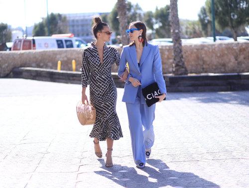 רומי ספקטור וטל נוי בשבוע האופנה 2018. צילום: אסף ליברפרוינד