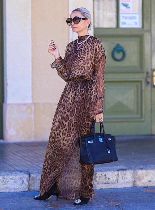 אורטל אלחדד בשבוע האופנה 2018. צילום: אסף ליברפרוינד