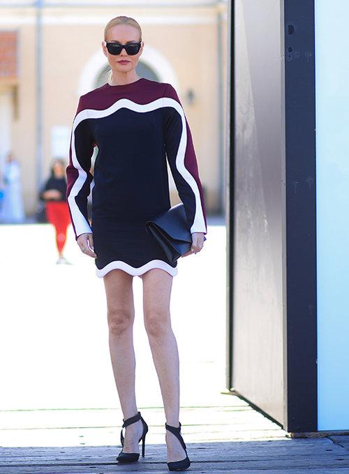 גלית גוטמן בשבוע האופנה 2018. צילום: אסף ליברפרוינד