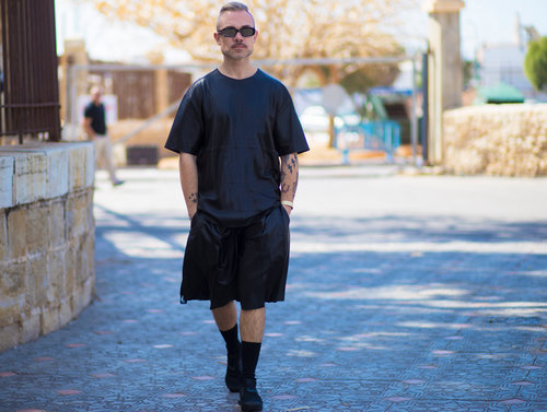 מקס מאייר בשבוע האופנה 2018. צילום: אסף ליברפרוינד