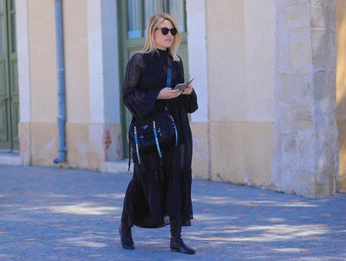 מאיה זאנה בשבוע האופנה 2018. צילום: אסף ליברפרוינד
