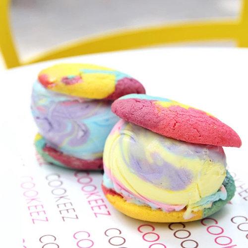 עוגיות יוניקורן של קוקיז. צילום: AvirA TLV