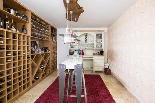 בדירה של טלי דביר לבנת וליאור לבנת. צילום: הילה עידו