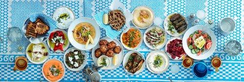 אוכל יווני בגרקו (צילום: אנטולי מיכאלו)