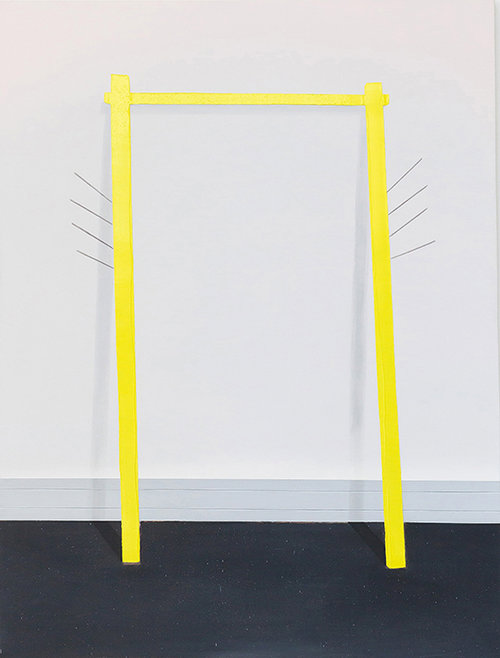 שגיא אזולאי – שער צהוב (קומבינה) (צילום: תומר אפלבאום)
