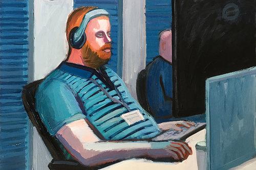 """""""מתכנת"""", עבודה של אנה לוקשבסקי"""