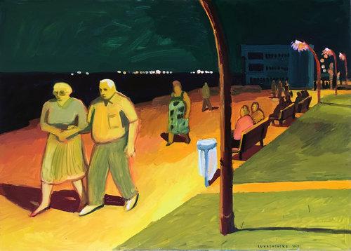 עבודה של אנה לוקשבסקי