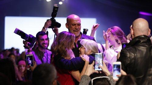 מוטי רייף, טובל'ה ונעמה חסין בשבוע האופנה האחרון