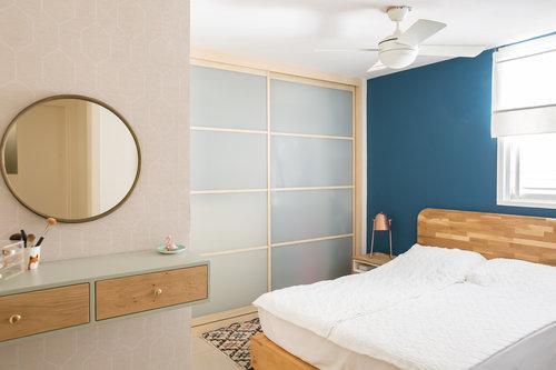 הצצה לדירה ברחוב קשאני. צילום: הילה עידו