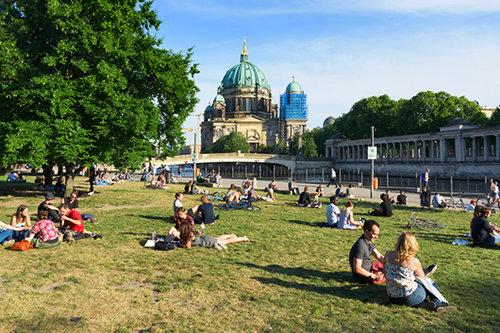 המדשאות לאוהבי האופן-אייר בברלין (צילום: shutterstock)