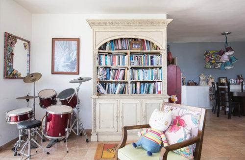 בדירה של עידית ביטון. צילום: הילה עידו