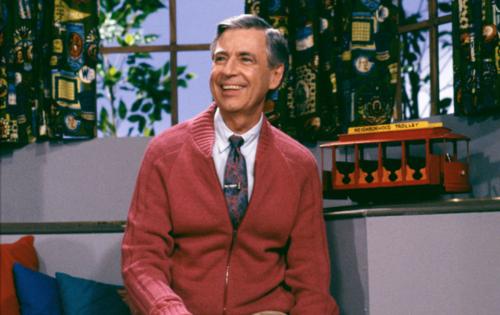 """מיסטר רוג'רס המקורי (מתוך """"Mister Rogers' Neighborhood"""")"""