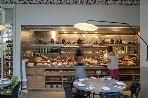מסעדת משייה. צילום: אנטולי מיכאלו