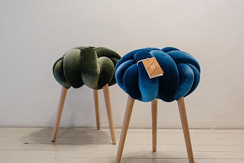 שרפרפי קשירות בסטודיו Knots. צילום: אור עדני