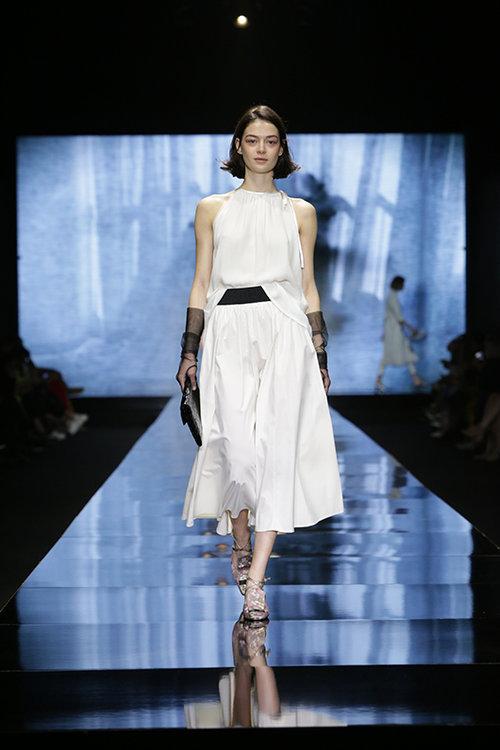 דורין פרנקפורט לשבוע האופנה. צילום: ענבל מרמרי
